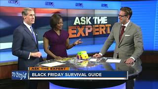 Ask the Expert: Black Friday survival guide - Video