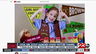 Local girl scout launches cookie tasting Youtube channel