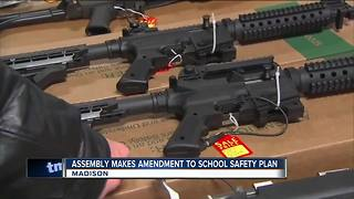 State Assembly debating Walker's school safety proposal