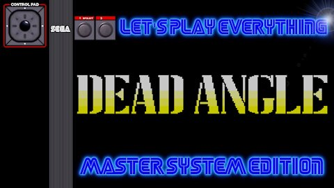Let's Play Everything: Dead Angle
