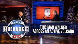 What Made The Guy That Walked Above An ACTIVE VOLCANO Scared | Nik Wallenda | Jukebox | Huckabee