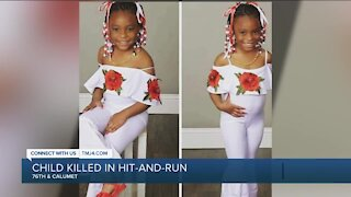 Family identifies 7-year-old girl killed in Milwaukee hit-and-run crash