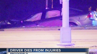Driver dies from injuries after Capitol Dr. crash - Video