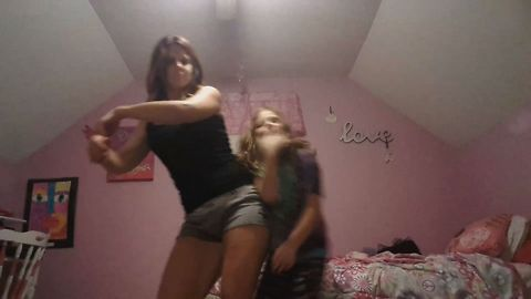 Dancing Mom Out Does Her Daughter