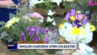 English Gardens Open On Easter - Video
