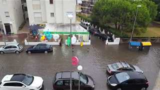 Flooding Brings Widespread Travel Disruption To Catalonia - Video