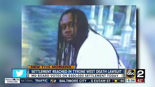Settlement reached in Tyrone West death lawsuit - Video