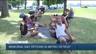 Memorial Day options in metro Detroit