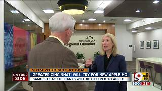 Cincinnati will try for new Apple HQ - Video
