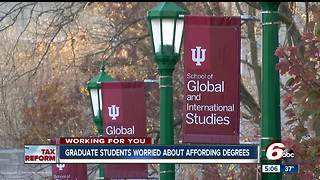 Taxing college tuition-assistance waivers could financially impact students - Video