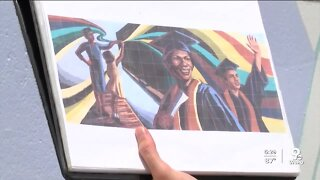Mural on Newport's flood wall will showcase city's rich, diverse history