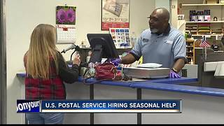 U.S. Postal Service hiring seasonal help - Video