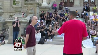 Lansing mayor announces plans for city-wide reform as protests continue