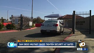 San Diego military bases boost security