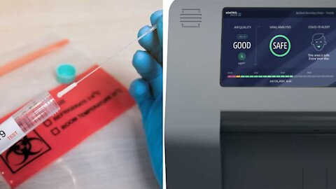 A Canadian Company Has A 'Game Changer' New Machine To Detect COVID-19 In The Air