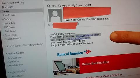 Scam alert: Bogus Bank of America email could rob you blind