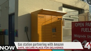 QuikTrip adds Amazon Lockers for shipped package pickup - Video