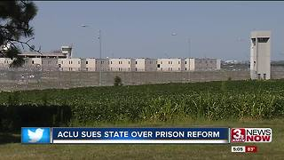 ACLU of Nebraska files lawsuit over state prisons - Video