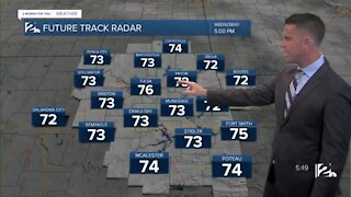 Warm & Windy Wednesday