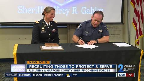 Recruiting those to protect & serve