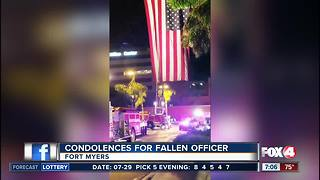 Death of Fort Myers Police officer mourned in Southwest Florida - Video