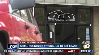 Small businesses struggle to file stimulus loan applications