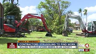 Will Lee Co. hire more people to pickup debris - Video