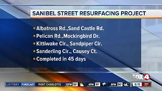 Sanibel Road Resurfacing Project Underway - Video