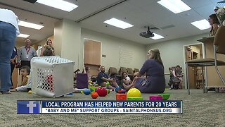 'Baby and Me' support program celebrates 20 years of helping new parents