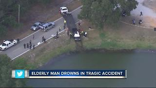 Elderly man drowns in tragic accident - Video