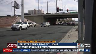 Frustrating traffic light studied by NDOT for improvements