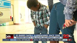Kern County Board of Supervisors are expected to declare February Safe Surrender Month - Video