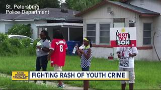 Pinellas County works to cut back on youth crime - Video