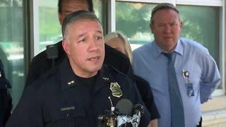 Denver police hold news conference after 3 people who appear to be homeless found dead