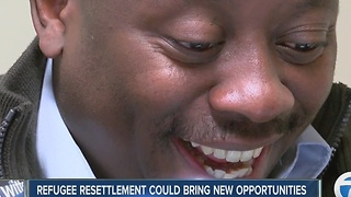 Refugee resettlement could bring new opportunities - Video