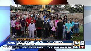 Good morning from Lansdowne Elementary School - Video