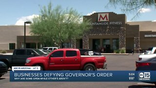Valley businesses are defying governor's order
