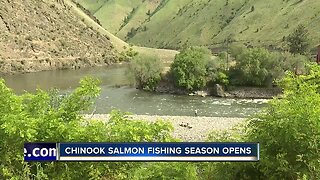 Chinook Salmon fishing season open