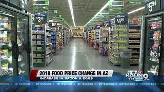 Egg prices up; ham, cheese, bread prices down in Arizona - Video