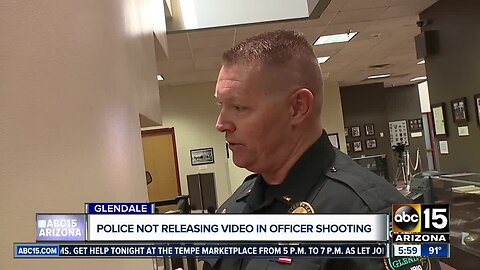 Glendale police not yet releasing body-cam video from shooting after illegal warehouse party