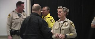 Las Vegas police hold 'First Tuesday' event