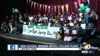 Lincoln High students celebrate College Day - Video