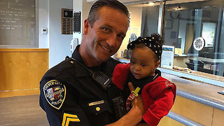 California Police Officer Saves Baby From Choking