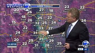 Snow coming to Colorado this weekend! - Video