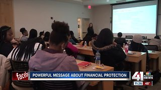 Powerful message about financial protection