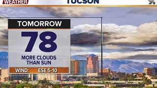 Chief Meteorologist Erin Christiansen's KGUN 9 Forecast Friday, November 25, 2016 - Video