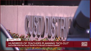 Hundreds of Valley teachers planning sickout