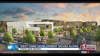 West Farm/South Farm development progress at 144th and Dodge - Video