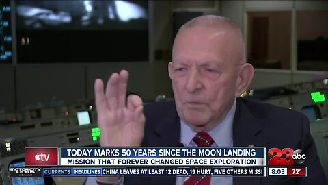 Today marks 50 years since the moon landing