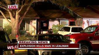 One person dead following two-alarm fire in unincorporated Pinellas County - Video